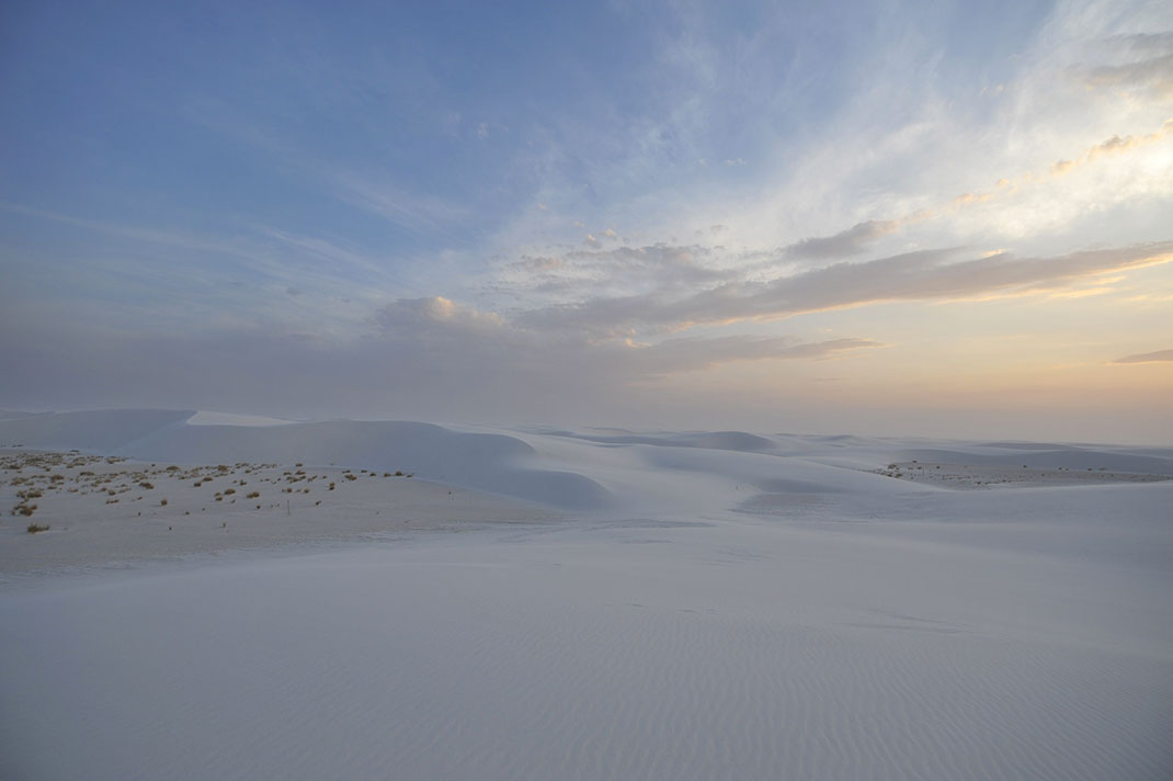 American White Sands Desert Is A Sublime Expanse That