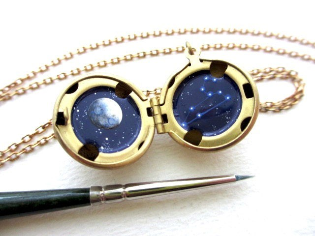This Amazing Jewlry Contains Meticulous Cosmos Paintings Of Our Beautiful Universe--16