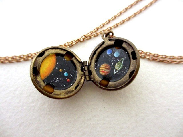 This Amazing Jewlry Contains Meticulous Cosmos Paintings Of Our Beautiful Universe--3