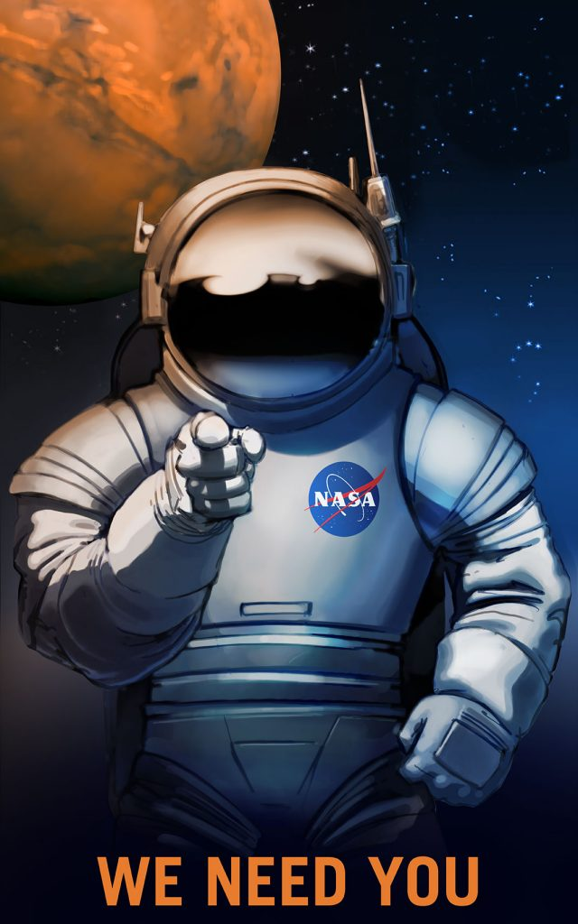 NASA Recruitment Posters Will Inspire You To Conquer Mars--1
