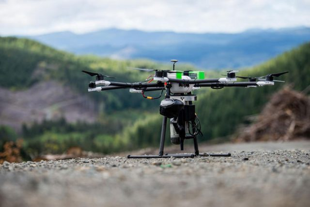 Tehnology To Save Planet: Drones To Be Used For Planting Trees--1
