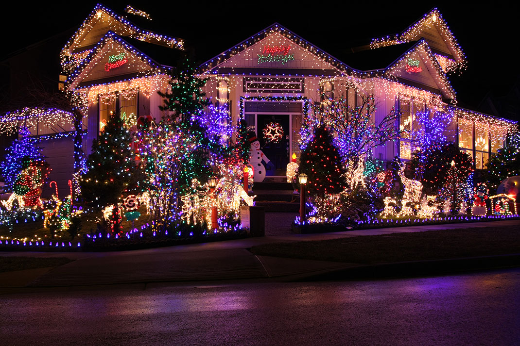 23 most beautifully decorated for christmas season - Les plus belles decorations de noel ...