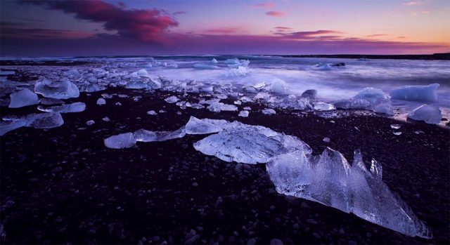 Iceland unveils its haunting landscapes--17
