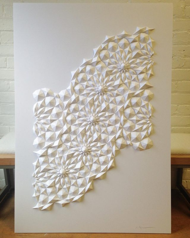Matthew Produces Ultra Detailed Sculptures From Simple Pieces Of Paper 8