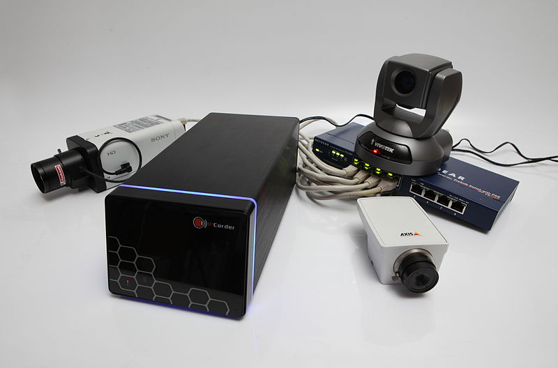 800px IPCorder NVR with cameras