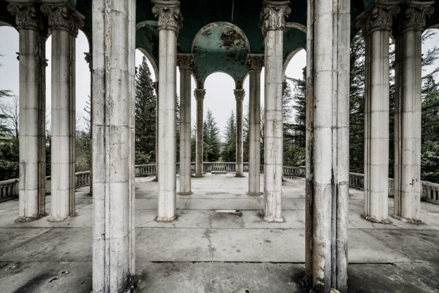 Sanatorium In Abkhazia