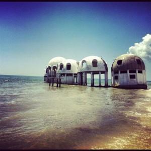 Abandoned homes in southwest Florida.