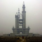 Disneyland Park abandoned near beijing, China.