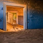 Kolmanskop in the Namib Desert.