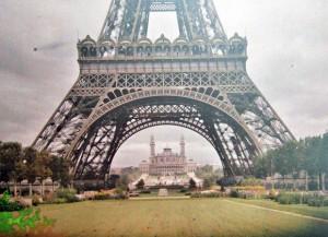 Paris Of 1900s in Color