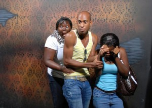 The Scenes Inside The Haunted House Nightmares Fear Factory