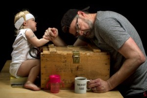 Dave Engledow--Father And Daughter Funny