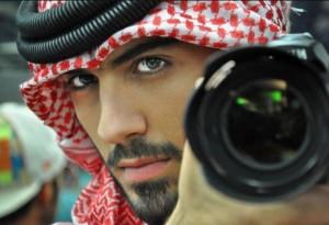 Omar Al Borkan Gala--expelled from Saudi Arabia for good looks