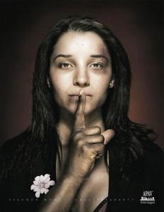A shocking add against violence against women
