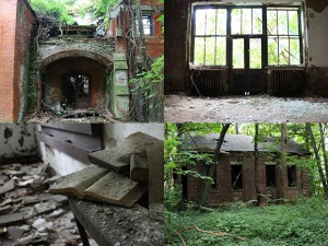 An abandoned island in New York