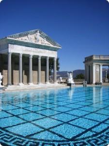 Neptune Pool, Hearst Castle. California, United States