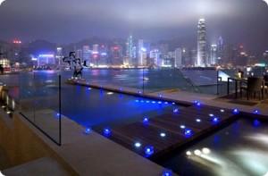 Intercontinental Hotel. Hong Kong
