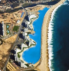San Alfonso del Mar, Algarrobo, Chile : just the largest swimming pool in the world: .