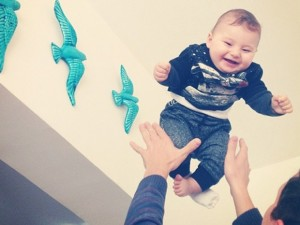 Cute Babies Learn The Art Of Flyting