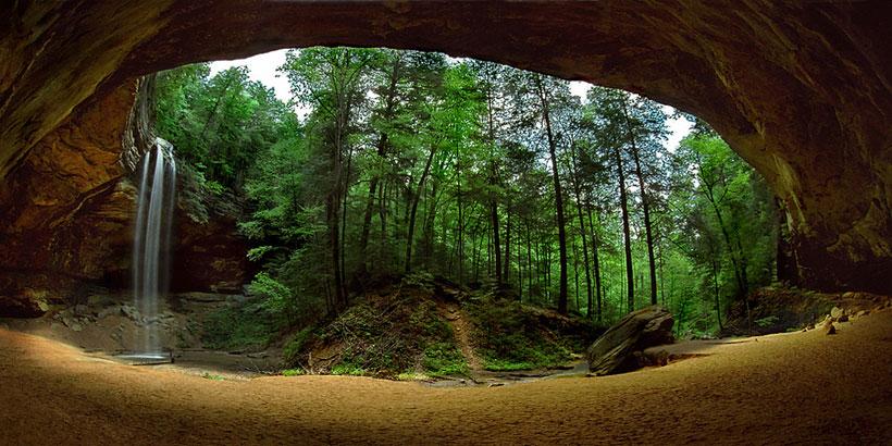 35 Ash Cave In Ohio