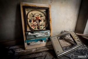 40 years old Japanese Abandoned Island Of Gukanjima-Hashima