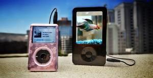 Ipod shape aquarium