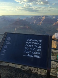 You must tell funny tourists what to do