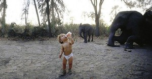 Tippi Degre--A wild girl with an elephant