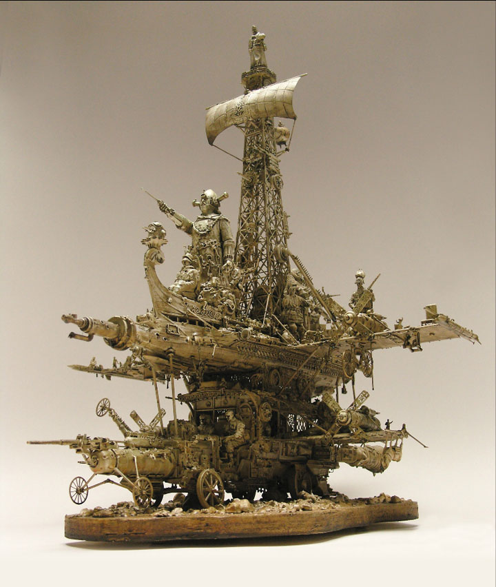 The Extraordinary Surrealist Sculptures Created From