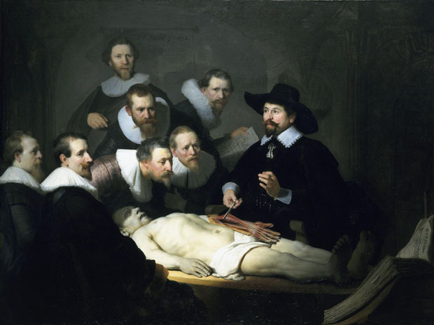 Hilary White: Remake Of The famous Anatomy Lesson Of Dr Nocholaes Tulp