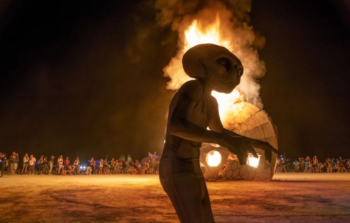 Burning Man Festival Nevada 28