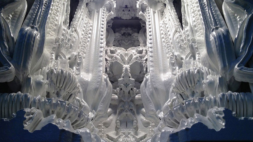 Gigantic Sculpture Made Using 3D Printing 2
