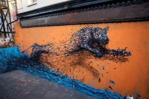 Surreal Shapes Metal Filament Paintings 42