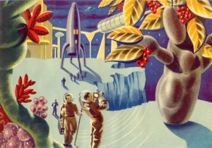 How Did The French Artists Saw The Future In 1950's-40