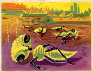 How Did The French Artists Saw The Future In 1950's-58