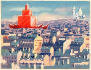 How Did The French Artists Saw The Future In 1950's-68