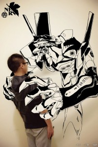 Gaikuo-Captain-An Artist Gives Life To His Drawings In A Unique Way -3