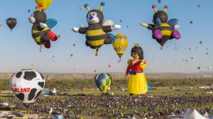 Balloon Festival of Albuquerqe Witness The Soaring Of Hundred Of Beautifu Balloons-10
