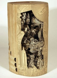 Brian Gives A New Life To Old Books By Carving Them Into Sculptures-10