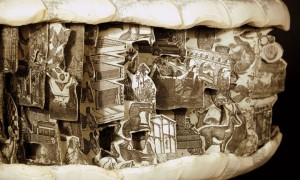 Brian Gives A New Life To Old Books By Carving Them Into Sculptures-21