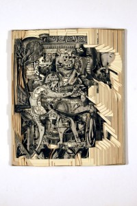 Brian Gives A New Life To Old Books By Carving Them Into Sculptures-35