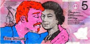 An Artist Makes Hilarious Caricatures Of Queen of England On Australian Dollar -14