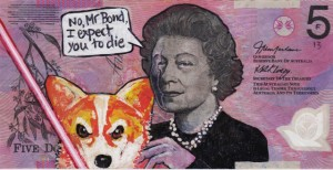 An Artist Makes Hilarious Caricatures Of Queen of England On Australian Dollar -15