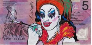 An Artist Makes Hilarious Caricatures Of Queen of England On Australian Dollar -20