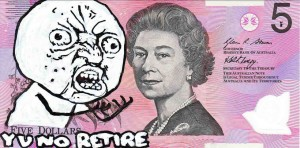 An Artist Makes Hilarious Caricatures Of Queen of England On Australian Dollar -3