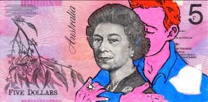 An Artist Makes Hilarious Caricatures Of Queen of England On Australian Dollar -6