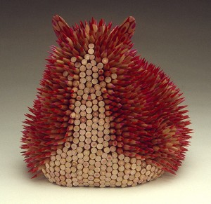 Stunning Nature Inspired Sculptures Made Only Using Pencils-12