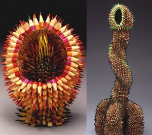 Stunning Nature Inspired Sculptures Made Only Using Pencils-9
