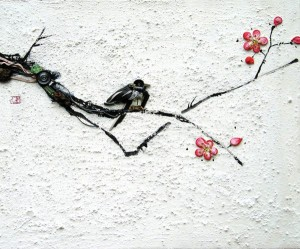 An Artist Blends Traditional Japanese Art With Electronic Circuits-1