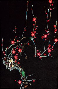 An Artist Blends Traditional Japanese Art With Electronic Circuits-7